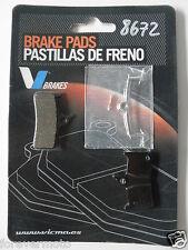 PASTIGLIE FRENO KEVLAR BICI /MTB /BICICLETTA SHIMANO DEORE XT BR-M755 (COD:8672)