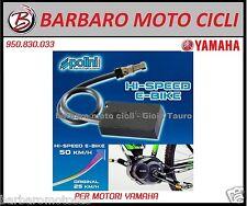 Modifica hi-speed ebike yamaha linea pw POLINI kit sblocco Bici elettrica 50 kmh