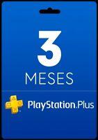 PSN PLUS 3 MESES PlayStation - PS Plus PS4 WORLWIDE [NO CODE] LEER DESCRIPCI