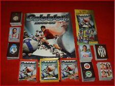 ALBUM FIGURINE CALCIATORI PANINI 2008 2009 09 SET COMPLETO AGGIORNAMENTI V1 V12