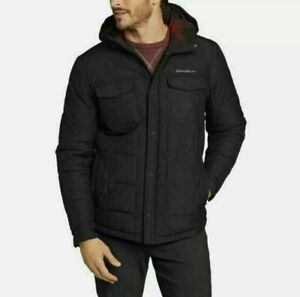 Eddie Bauer Men's Boundary Pass Hooded Snap Jacket