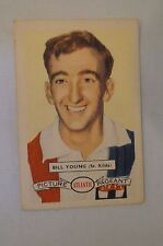 St.Kilda - 1958 - Vintage - Atlantic Football Card - Bill Young.