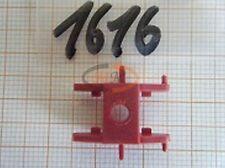 2 x ALBEDO Ersatzteil Ladegut Drehschemel mit Zapfenaufnahme rot H0 1:87 - 1616