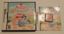 Strawberry Shortcake: Strawberryland Games (Nintendo DS, 2006) complete
