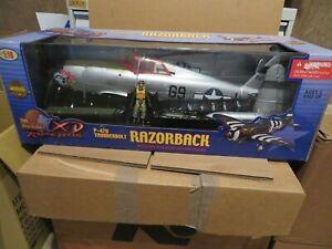 The Ultimate Soldier X-D P-47D Thunderbolt Razorback Jaboo 1:18 2003 MISB