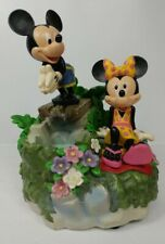 Colibri Park Lane Disney Mickey Minnie Mouse Table Musical Water Fountain - Read