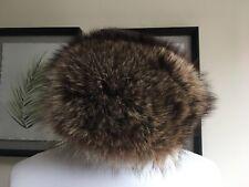Anneliese Trappmann Real Fox Fur Vintage Russian Hat Size S