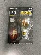 Feit Vintage Style Bulb 60W LED Dimmable O I Gina, Vintage Style Bulb M22E
