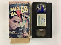 Mixed Blood - VHS Rare OOP - Paul Morrissey - Media 1986 - Plays Great!