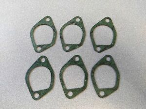 LOT OF 6 BRAND NEW ELRING PORSCHE 911 SC INTAKE MANIFOLD GASKETS 3.0