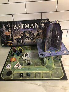 Vintage 1992 Batman Returns 3D Board Game Parker Bros. 100% Complete