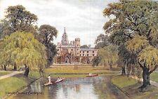 POSTCARD   QUINTON  A R   CAMBRIDGE     St  John's  College