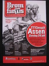 Flyer BromfieTTs TT circuit Assen 20 juli 2014
