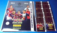 Adrenalyn Champions League CL 2013/14 - Nordic binder + 10 OVP Booster