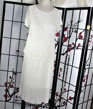 Monroe /& Main Chic Skyline White Black Rhinestone Skirt Suit 6 8 14 16W PLUS