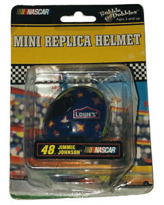 Bobble Dobbles NASCAR Jimmie Johnson #48 Mini Replica Helmet Collectible New