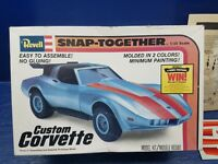 Revell Snap-Together Custom Corvette Model Kit 1/25 Scale Lot#6-0250
