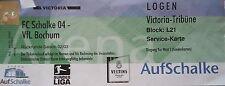 VIP TICKET Loge BL 2002/03 FC Schalke 04 - VfL Bochum