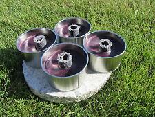 Mini-Feuertöpfe 4 St.  3 h Brenndauer Kerze  Feuer Säule Rost Windlicht Fackel