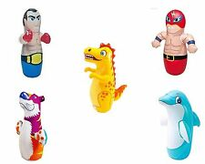 3D Bop Bag - Inflatable Blow Up Punching Bag Toys,Gift,For Kids Fun