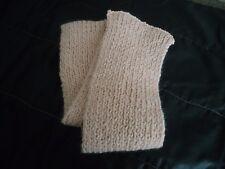ECHARPE - ROSE - dim. 13 * 110 cm - acrylique laine - tricotée à la main