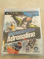 Motionsports: Adrenaline (Sony PlayStation 3, 2011) PS3 NEW