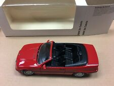 SCHABAK 1:24 SCALE DIECAST BMW 3 SERIES CONVERTIBLE RED RARE DEALER MODEL NEW