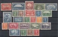 Y4634/ CANADA – 1933 / 1935 MINT SEMI MODERN LOT – CV 385 $