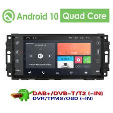 "7"" Android 9.0 Car Radio GPS Navi Stereo for Jeep Grand Cherokee Liberty Compass"
