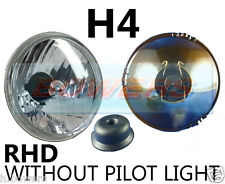 "5.75"" 5 3/4"" CLASSIC CAR CRYSTAL HEADLAMP HEADLIGHT HALOGEN H4 WITHOUT PILOT"