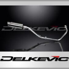 """Honda CBR250R Complete 1-1 Exhaust 8"""" Mini Stainless Round Muffler 11 12 13 14"""