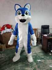 Husky Dog Mascot Costumes Adult Suit Unisex Dress Cartoon Parade Cosplay Outfits