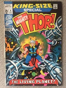 Marvel Comics The Mighty Thor King Size Annual #4(1975) NM-/NM