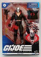 "G.I. JOE Classified Series DESTRO 6"" Figure 2020 GI Joe HASBRO"