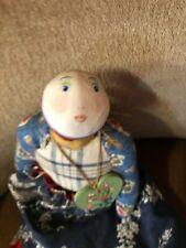 Handmade Ilonka folk doll
