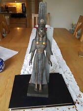 More details for rare las vegas luxor hotel & casino  bronze egyptian godess