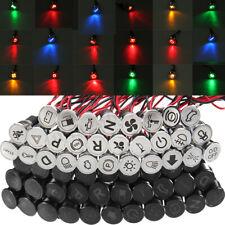 8 10 12 14 16 MM LED Luz Advertencia Indicador Dash Panel Tablero Lámpara Piloto