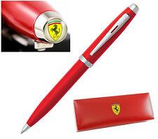 Sheaffer Ferrari 100 Ballpoint Pen Red Rosso Corsa New In Box Black Ink Refill