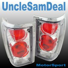 MAZDA B-SERIES PICKUP CLEAR LENS CHROME ALTEZZA TAIL LIGHT DIRECT FIT PAIR