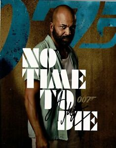 Jeffrey Wright SIGNED 10X8 Photo No Time To Die AFTAL COA (5523)