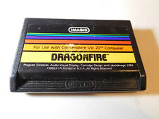 Commodore Dragonfire Vic-20 computer cartridge - WORKS