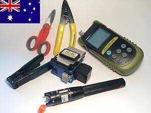 FTTH Fiber Optic quick termination kit NBN Broadband Optical Meter CFS NBN FIBER