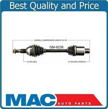 100% New CV Drive Axle Shaft Fits Pass Side Front 09-14 Traverse 07-15 Arcadia