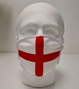 England flag Face Mask Lightweight Quality Adult Triple Layer Washable UK 1 size