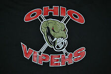 Ohio Vipern Baseballshirt große Fierce Vicious Schlange PERRYSBURG Oh Nizza