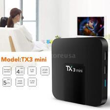 TX3 mini Android 7.1 Smart 4K TV BOX S905W Quad Core DLNA WiFi Media 2G+16G V3H9