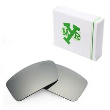 MRY POLARIZED Replacement Lenses for-Oakley Gascan S (Small) Silver Titanium