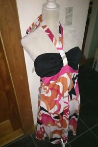 Woman's Retro 60's Halter Dress Size XL