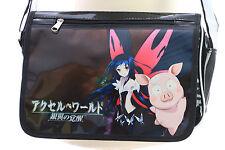 B-142 Accel World Kuroyukihime Pinku Pig Lack PVC Umhänge-Tasche Bag Anime Manga