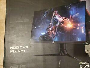 "New Sealed ROG ASUS Republic of Gamers Swift PG329Q 32"" 16:9 175 Hz G-SYNC QHD!"
